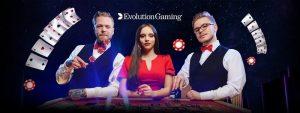 ร่วมเดิมพันไปกับ Evolution Gaming